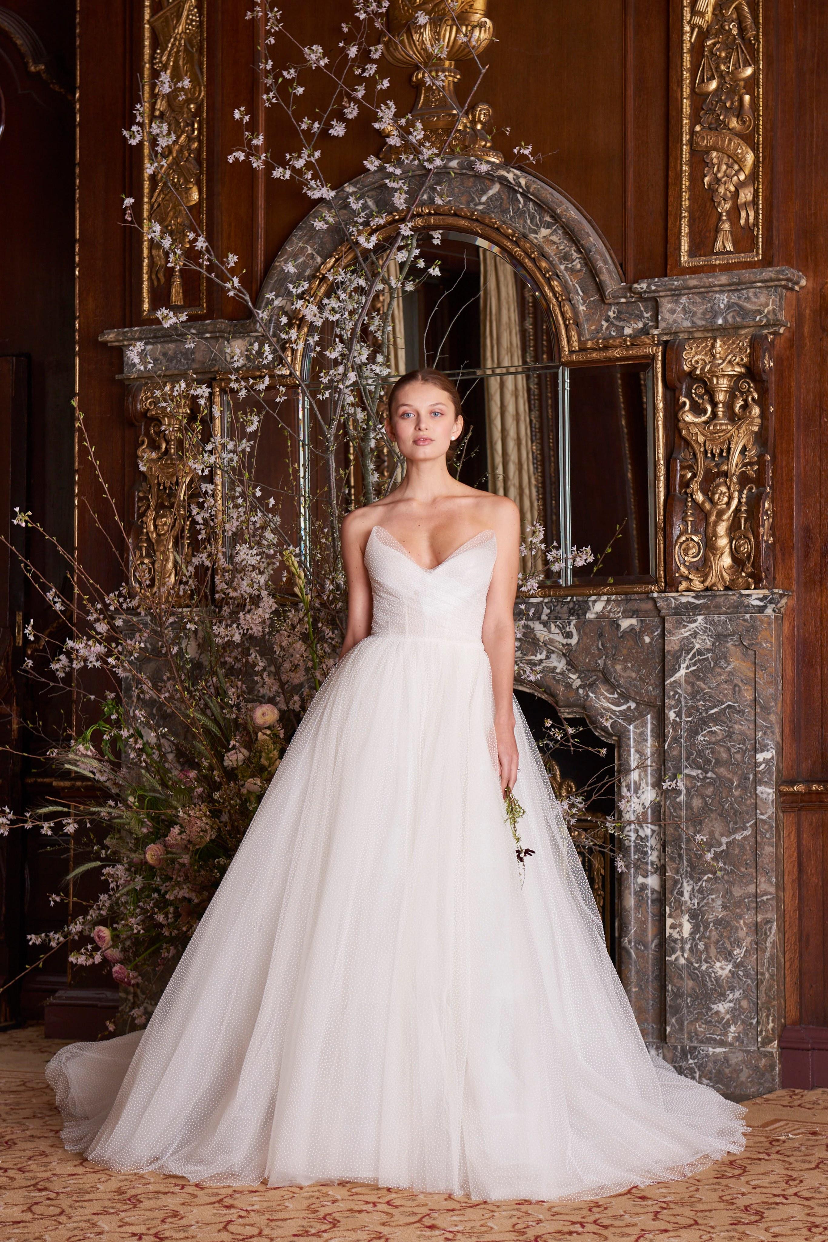 Vestidos de novia Monique Lhuillier 2019