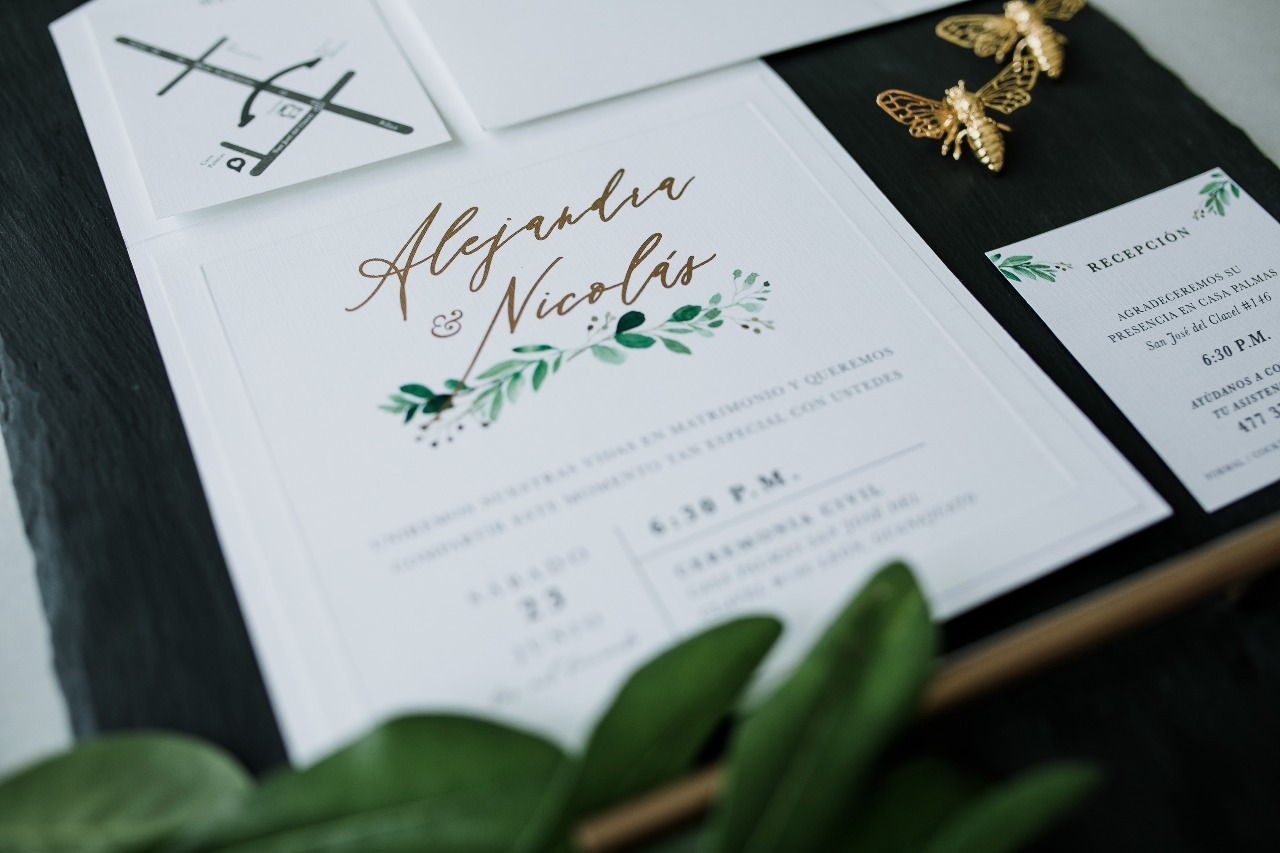 Las invitaciones de boda perfectas