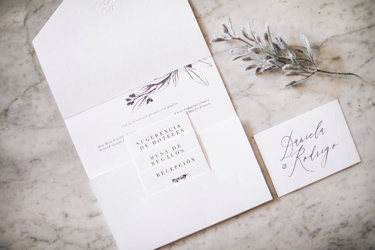 Invitaciones de boda 2019