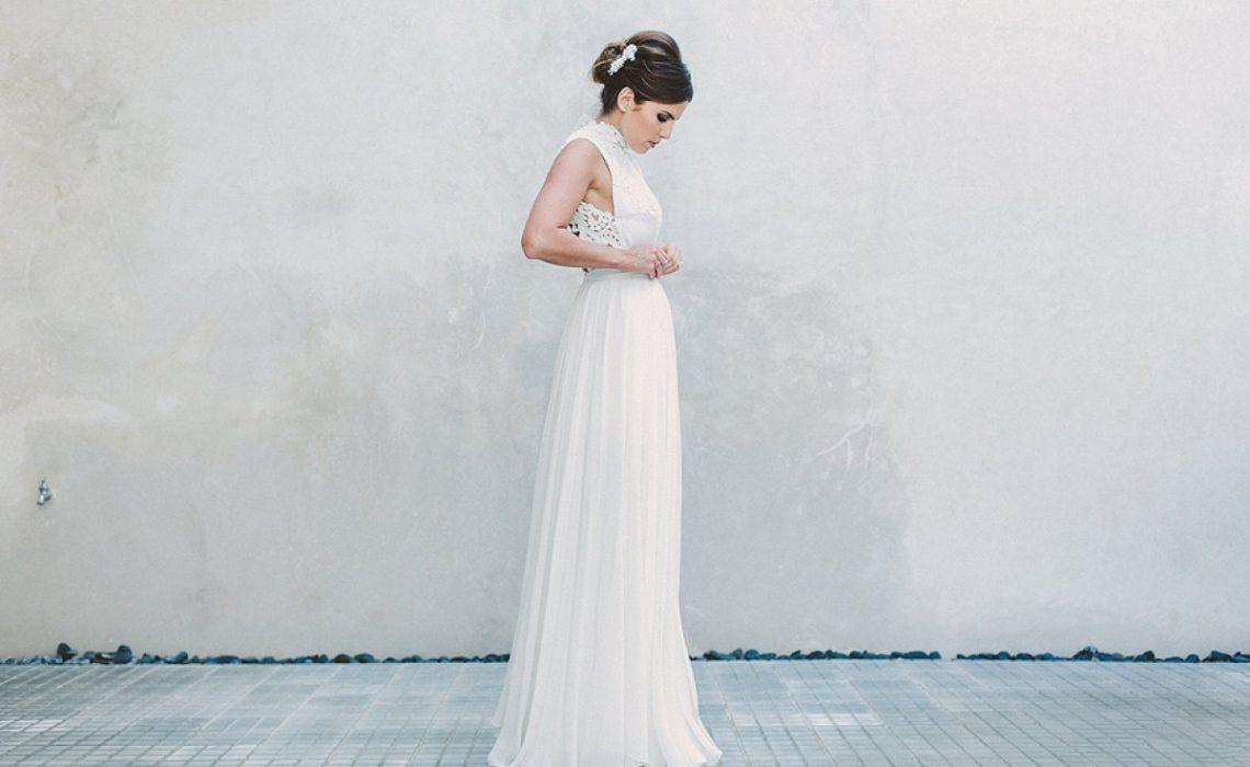 Ir sola a comprar el vestido de novia