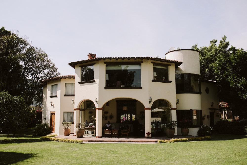 Boda en Casa Bugambilia, Tepoztlán