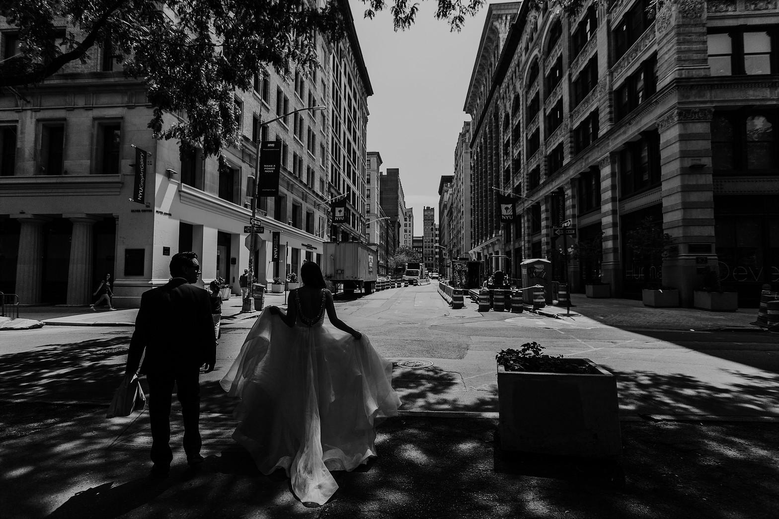 Sesión de fotos en pareja en Nueva York