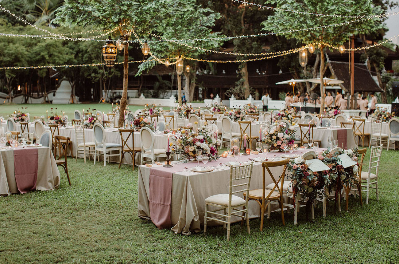 Consejos para celebrar una boda en jardín