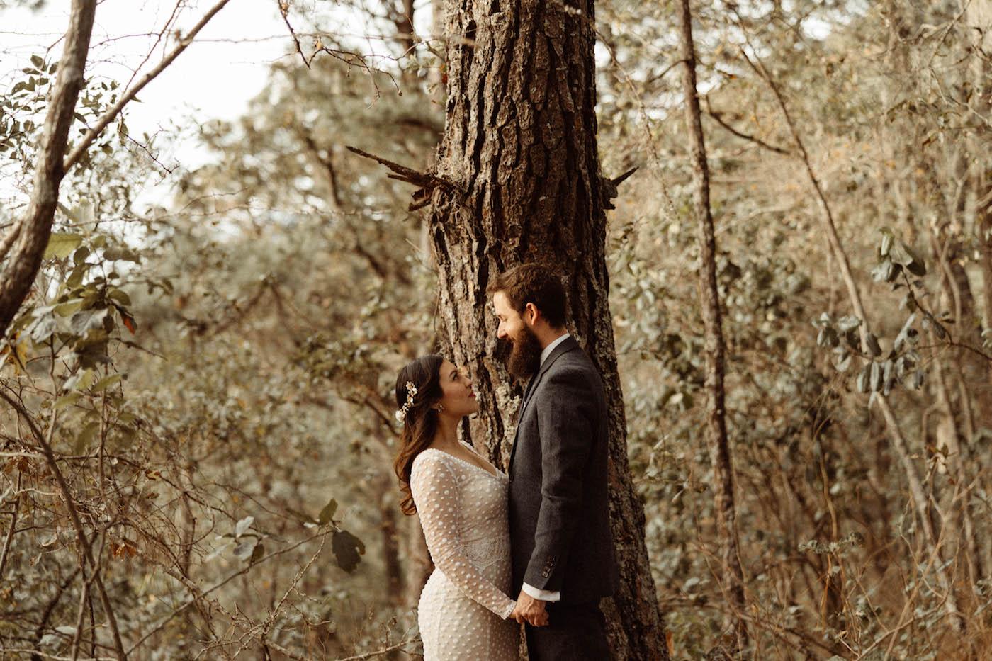 Love session alternativa en el bosque
