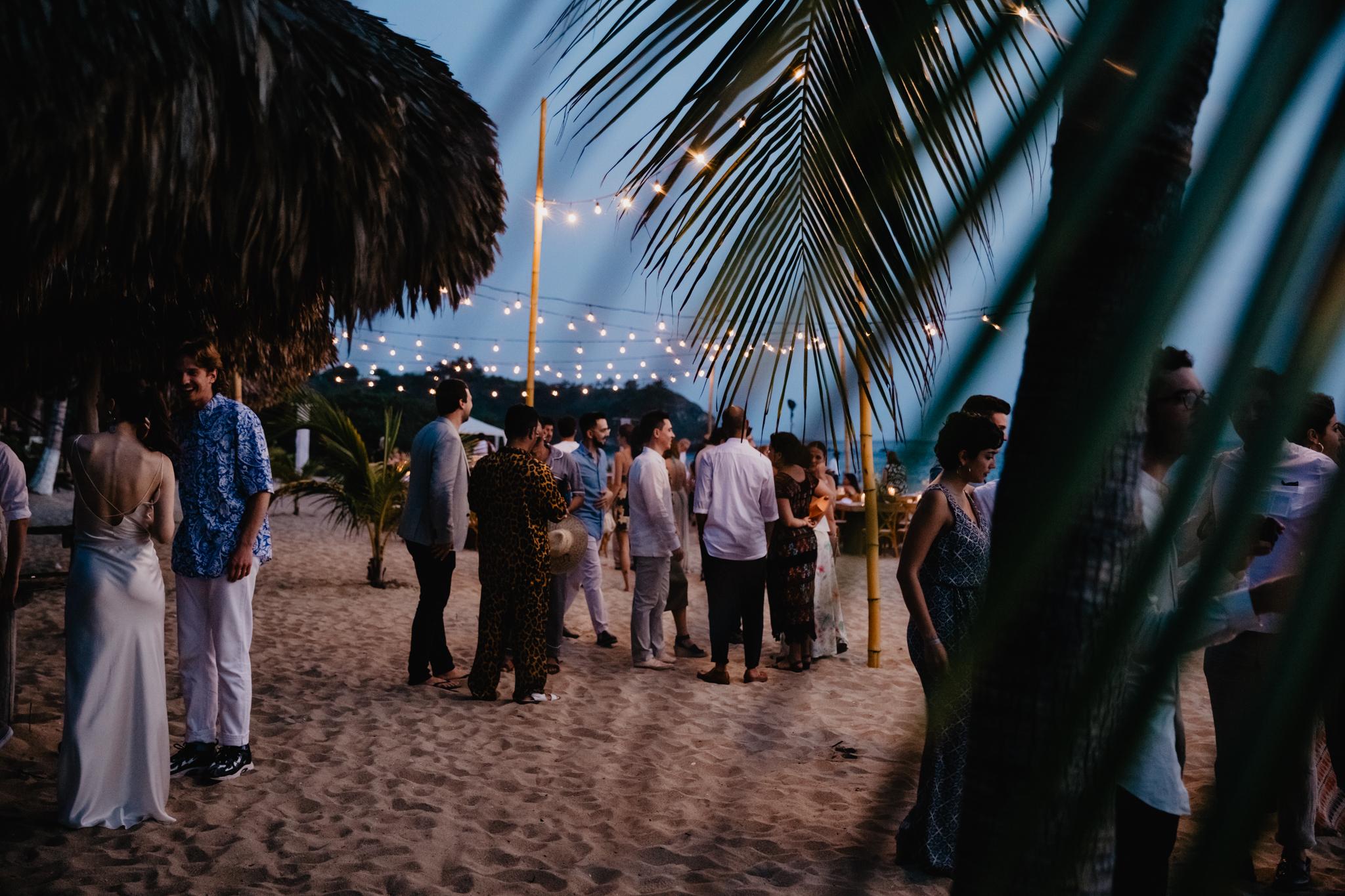 Boda en Puerto Escondido, Oaxaca