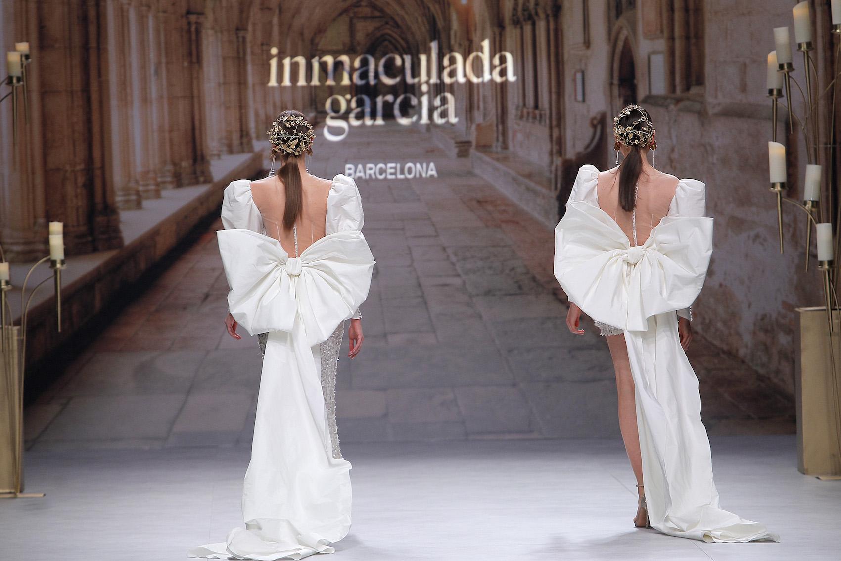 Vestidos de novia Inmaculada García 2020