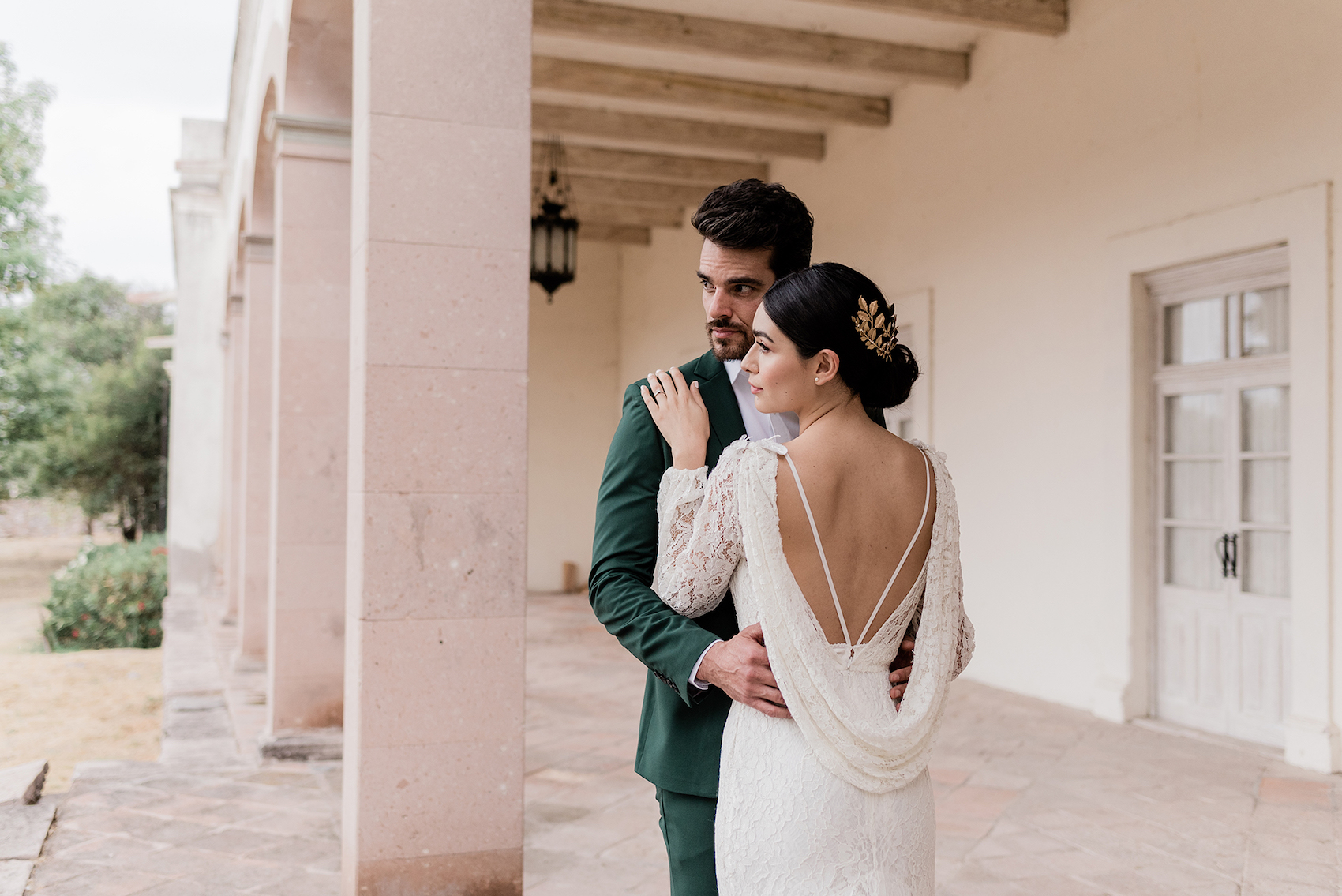 Inspiración para boda romántica