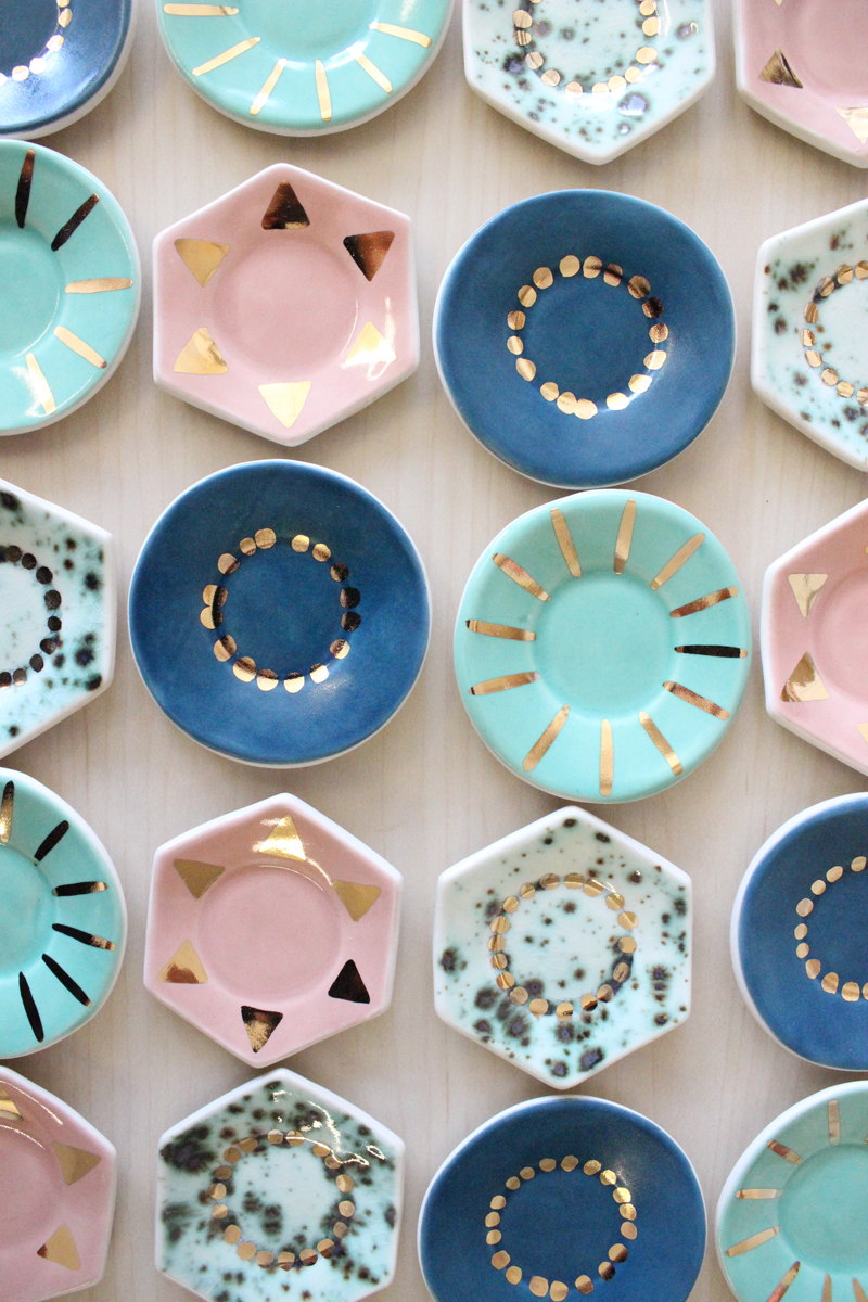 Decoración de boda con cerámica