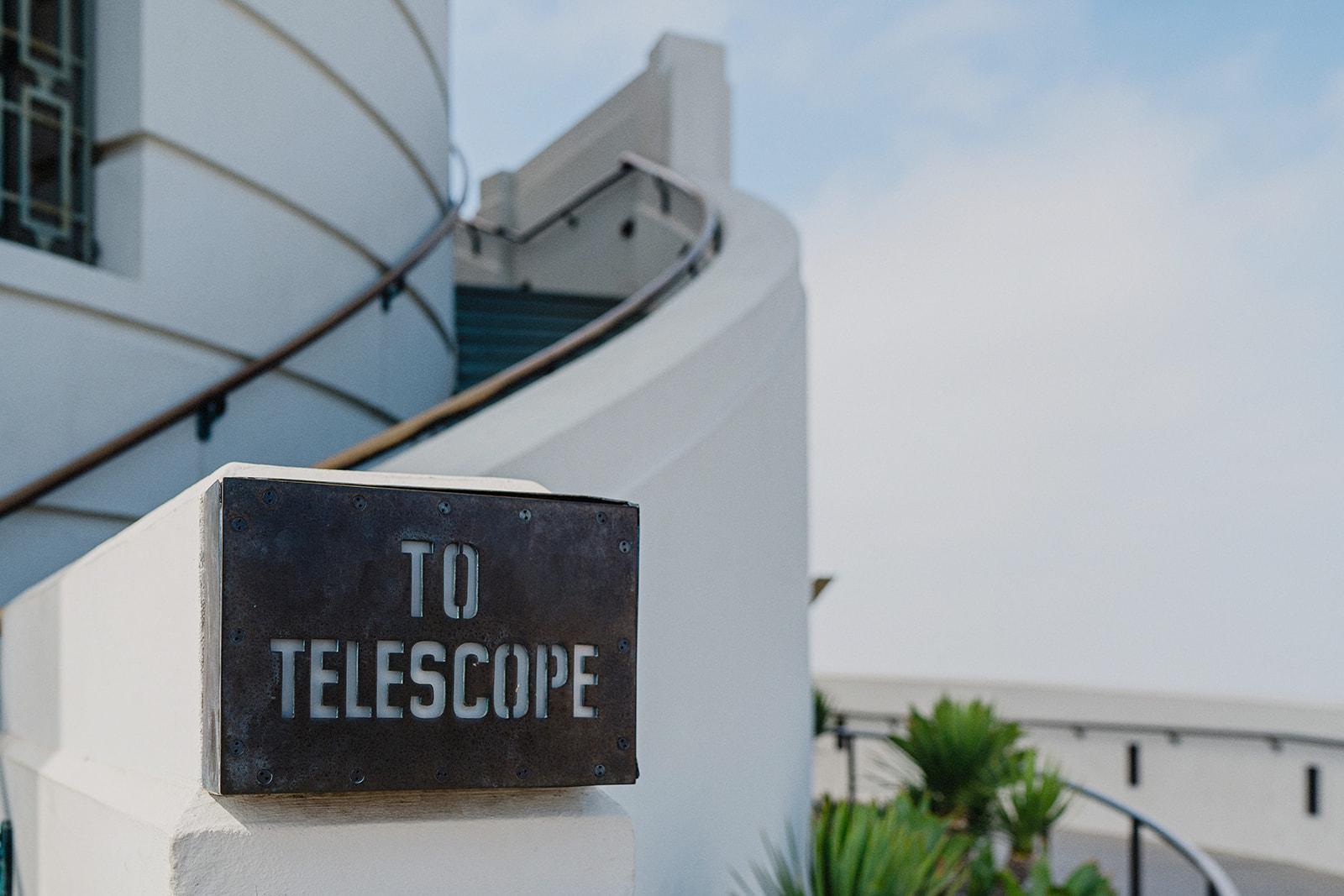 Elopement en Griffith Observatory Los Angeles