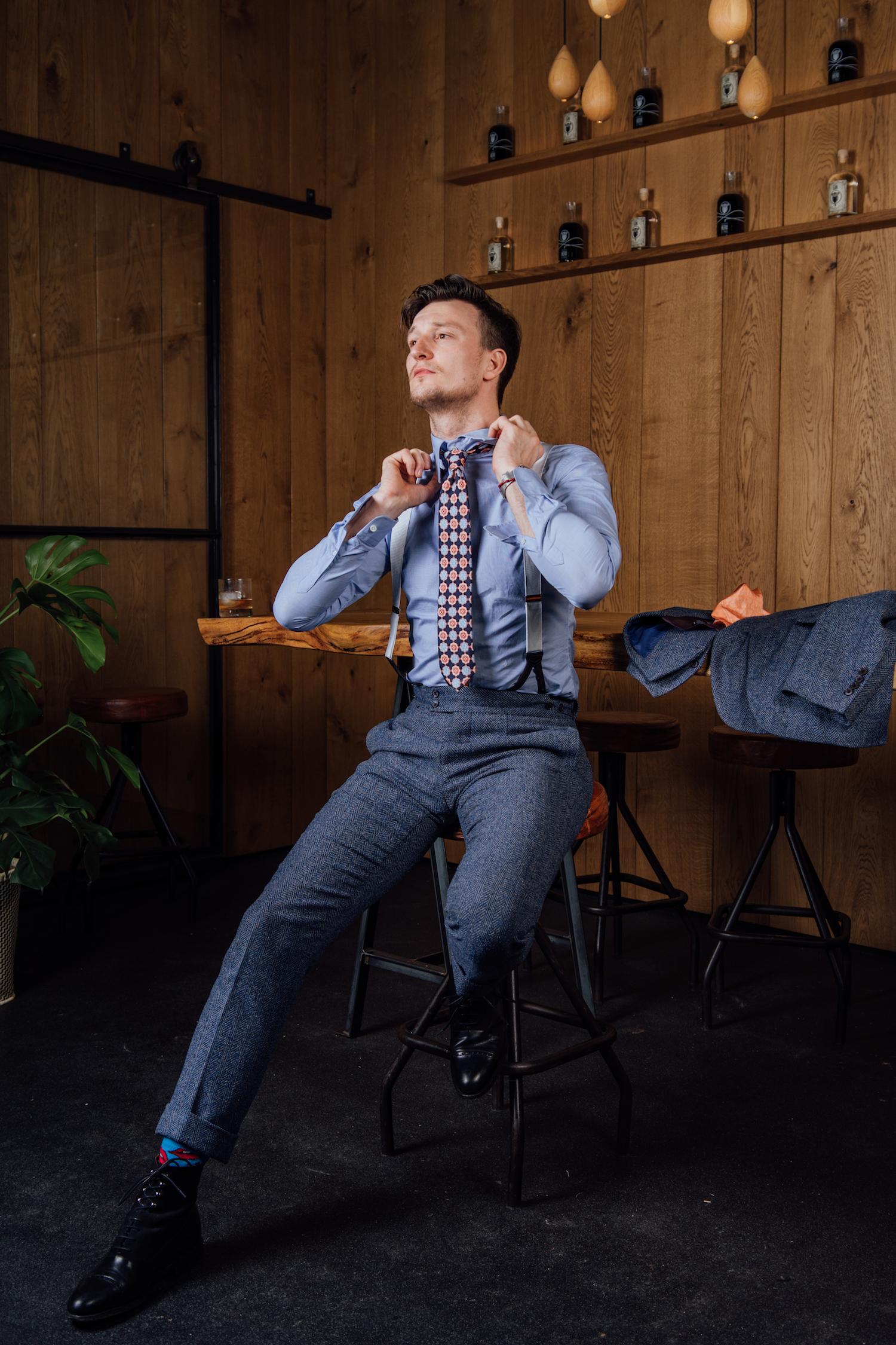 Cómo elegir el traje de novio por Rooks & Rocks