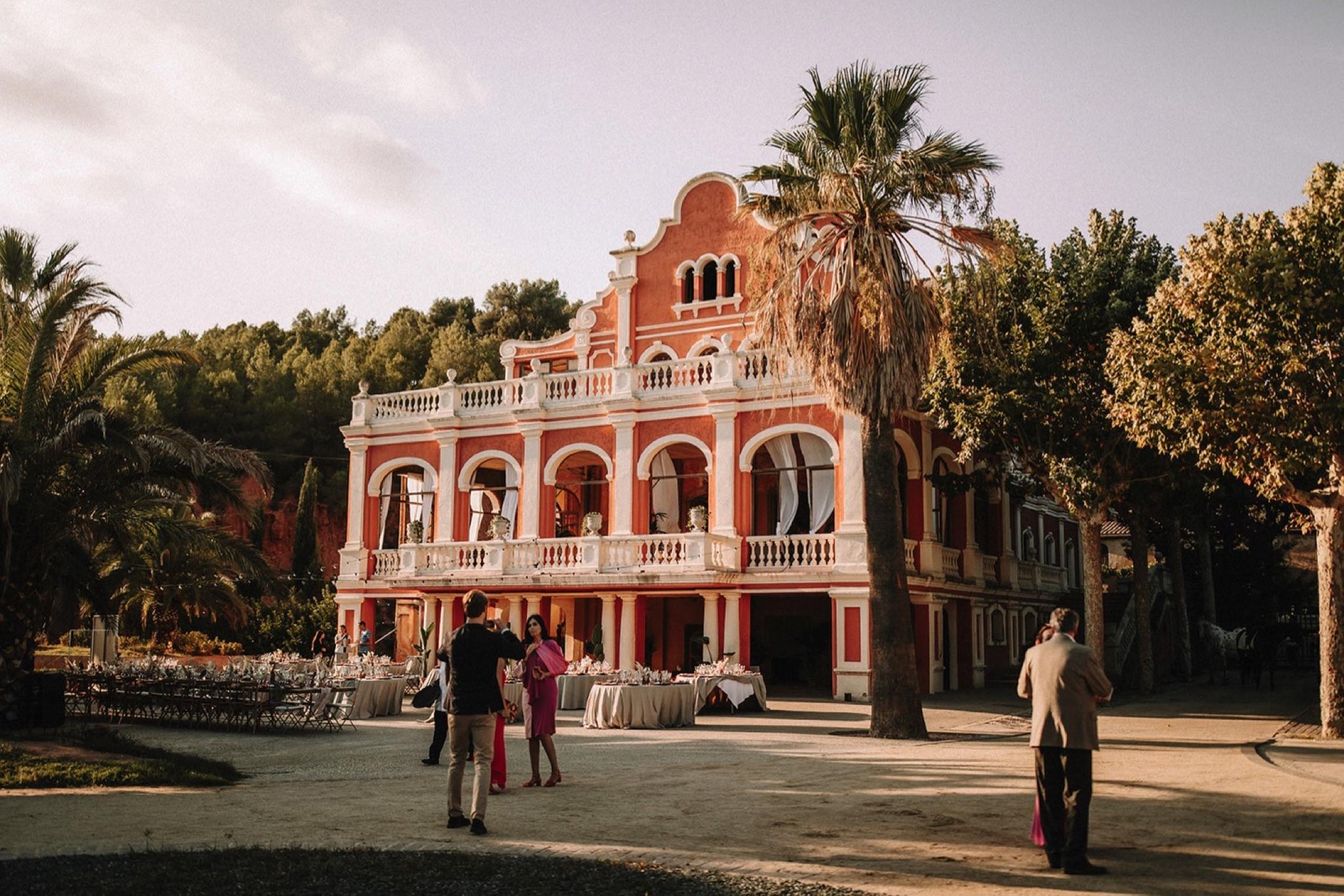 Boda en Castell de Ben Viure Barcelona