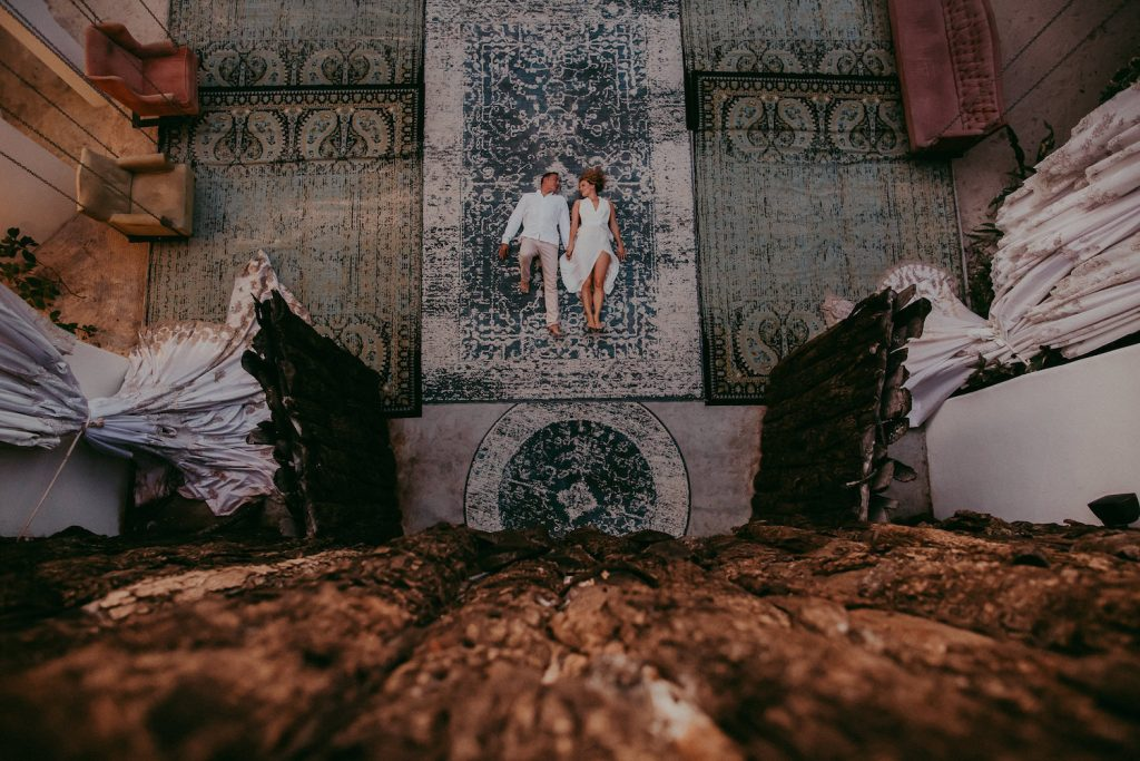 Button Up fotografía de bodas en Cancun