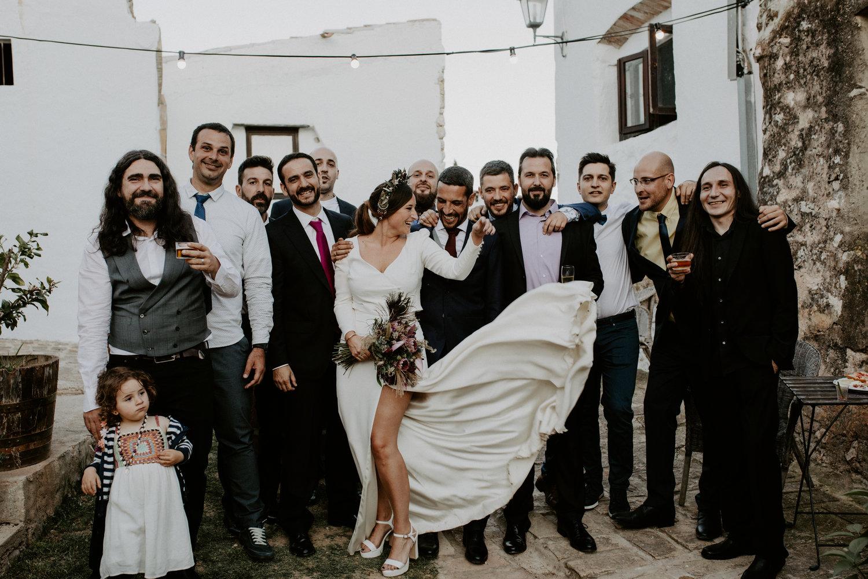 Boda estilo mediterráneo en España